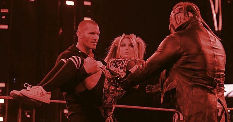 Alexa Bliss vs Randy Orton