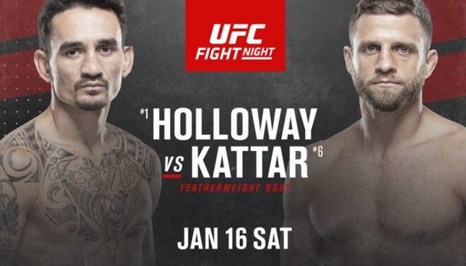 Holloway vs Kattar Online