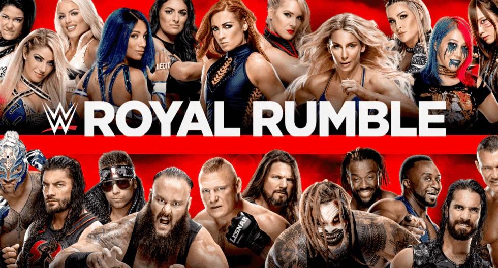 Donde ver WWE Royal Rumble