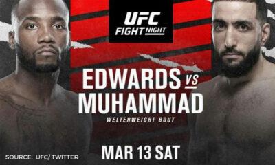 ufc fight night en vivo marzo