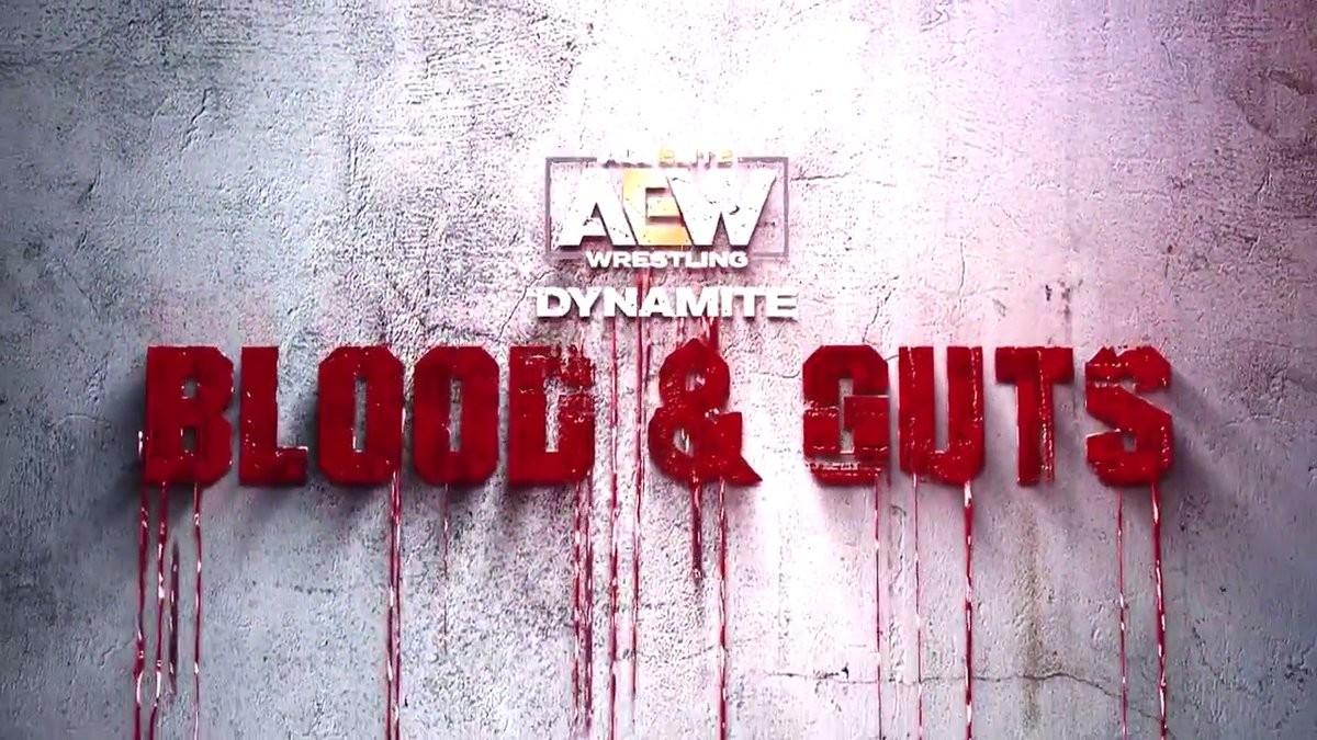 AEW Dynamite Blood and Guts En Vivo