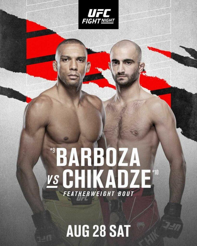Barboza vs Chikadze
